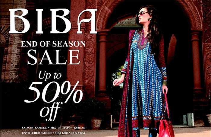 Biba Offer : Get upto 50% off on Women's Fashion