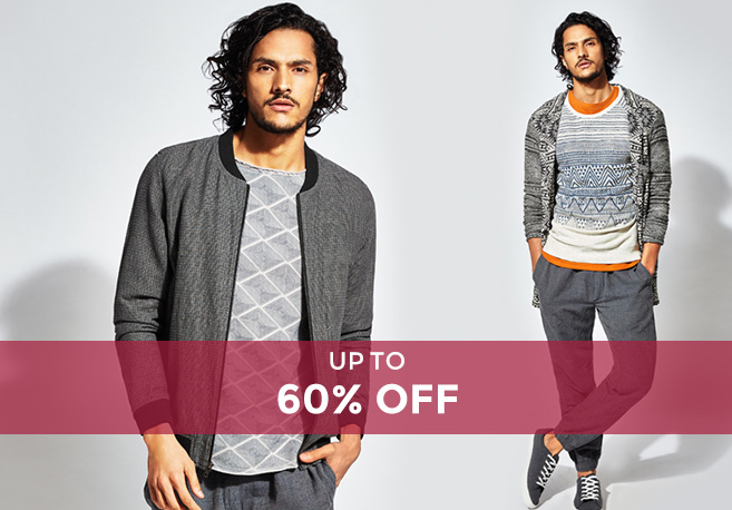 Tata CLiQ Offer : Get upto 60% off on Men's Casual Wear