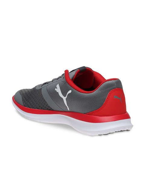 Myntra Offer : Puma Unisex Grey FlexT1 IDP Running Shoes at Rs.2,999