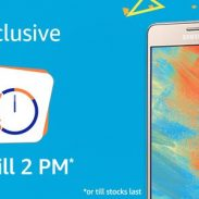Amazon [Samsung Happy Hours] : Samsung On5 Pro Mobiles @ ₹6,990