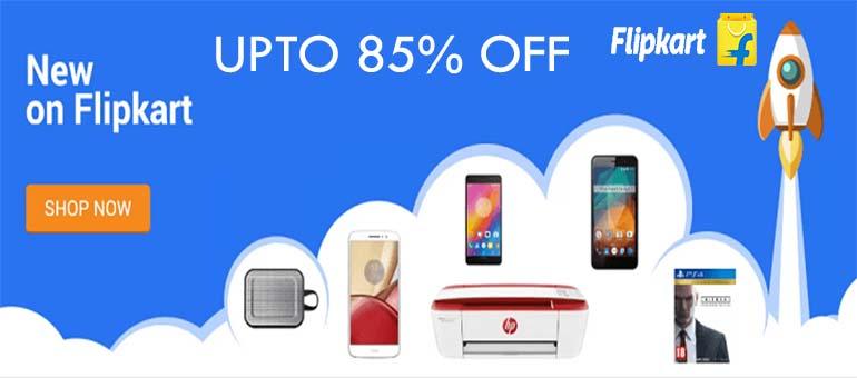 Flipkart Offer : Get upto 60% off on Electonics