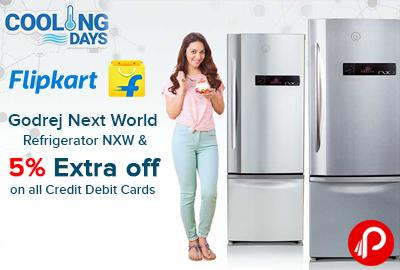 Flipkart Offer : Get upto 40% off on Godrej Refrigerators