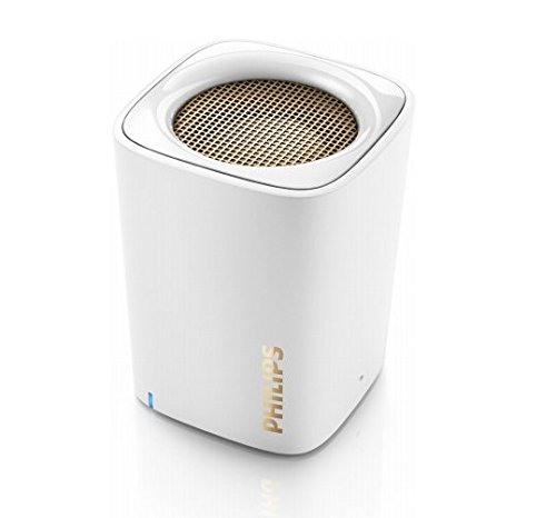 Amazon Offer: Philips BT100W/00 Wireless Portable Speakers (White) @ Rs.1,499