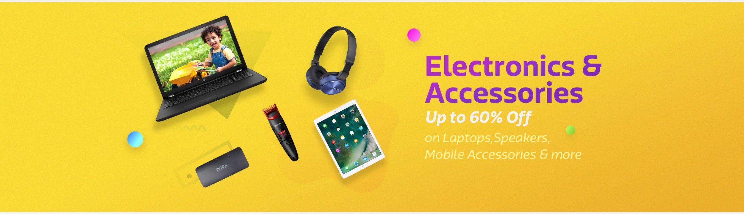 Flipkart ( Big Shopping Days ) Offer : Get upto 80% off on Electronics