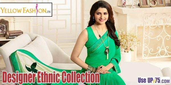 Yellow Fashion Offer : Get Sarees under Rs. 1000