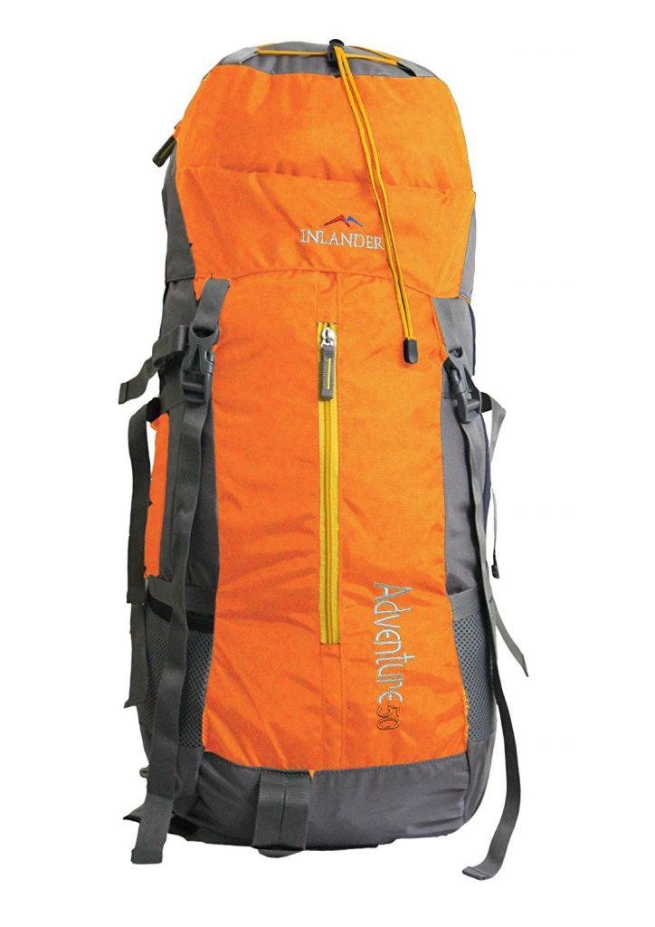 Inlander 50Ltr Polyester Orange Rucksack @ Rs.1,376.00