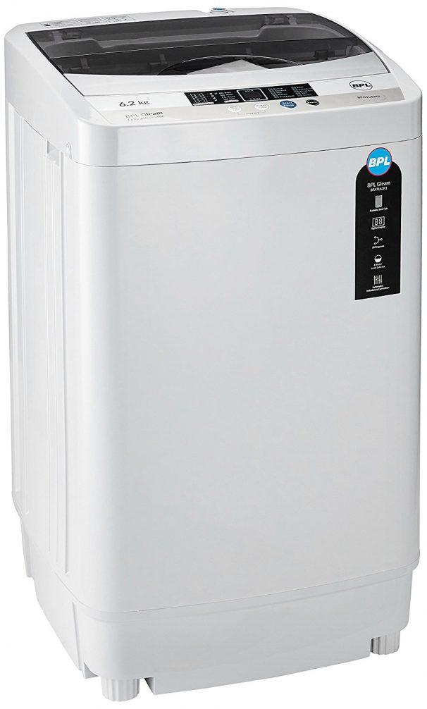 BPL 6.2 kg Fully-Automatic Top Loading Washing Machine (BFATL62K1, Grey) @ Rs.10,490