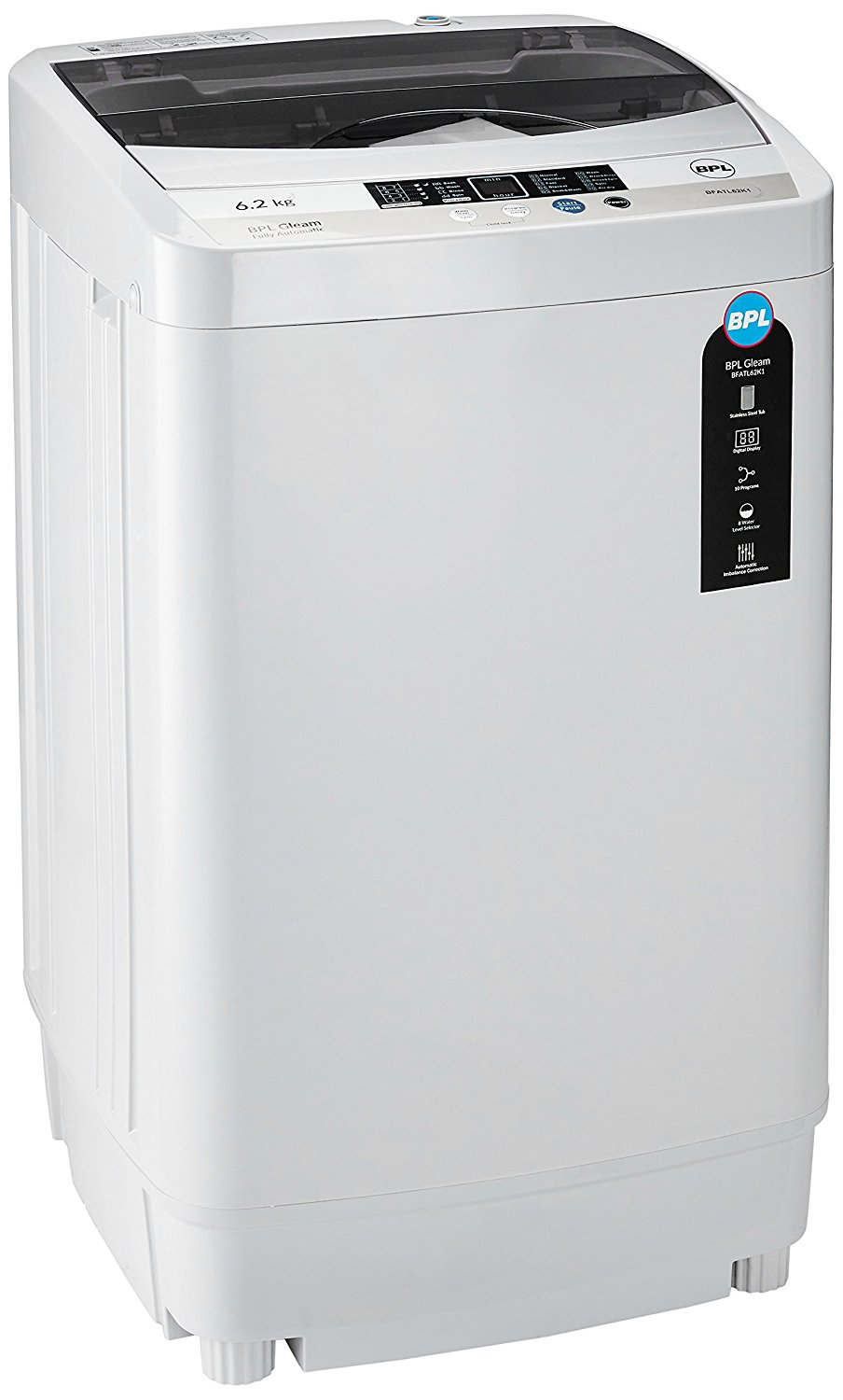 Amazon: BPL 6.2 kg Fully-Automatic Top Loading Washing Machine at Rs.10,490.00