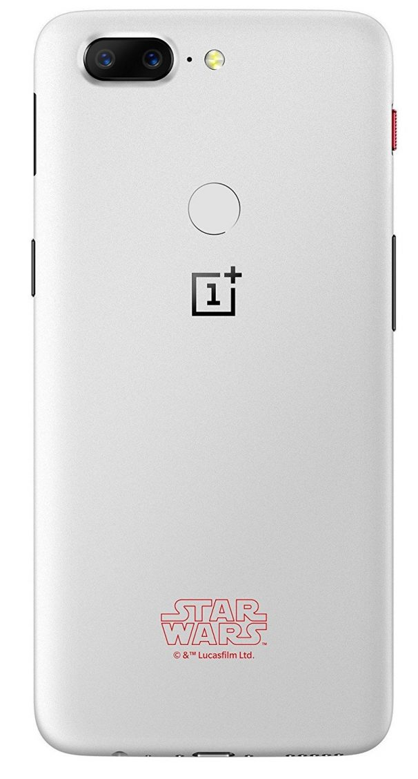 OnePlus 5T (Star Wars Limited Edition, Sandstone White, 8GB RAM + 128GB memory) @ Rs.38,999
