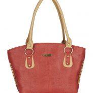 Amazon offer: Fristo women's handbag (FRB-057) Orange and Beige @ Rs.199