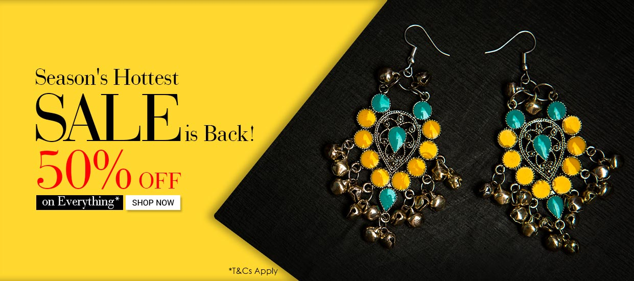 Voylla Offer : Get 50% off on Women's Jewellery