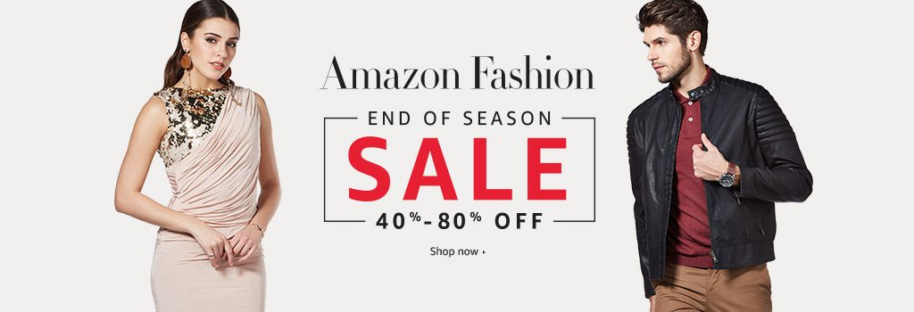 Amazon Offer : Get upto 50% off on Fashion