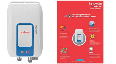 Flipkart Offer : Hindware 3.0 L Instant Water Geyser  (White & Blue, HI03PDB30) at Rs.2,499