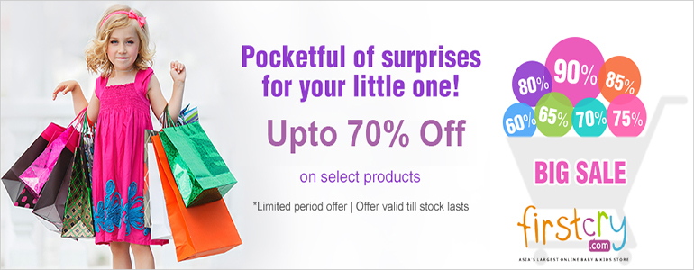 Firstcry Offer : Buy Rs 450 off on minimum purchase of Rs 1300