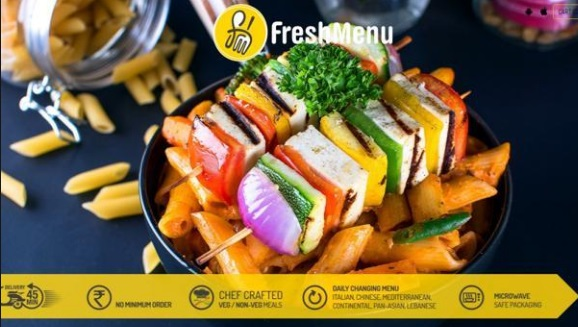 Freshmenu Offer : Get Free Dessert worth Rs 90 on Orders above 500 on Weekends