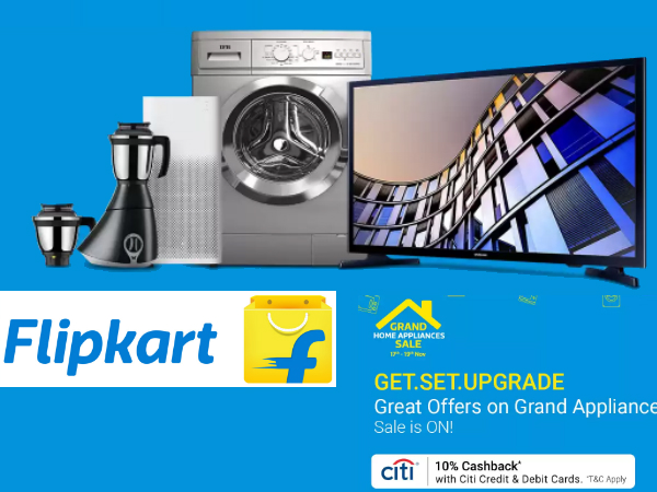 Flipkart Offer : Get upto 60% off on Kitchen Appliances