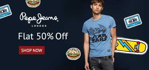 Shoppers Stop Offer : Get upto 50% off on Men's Fashion