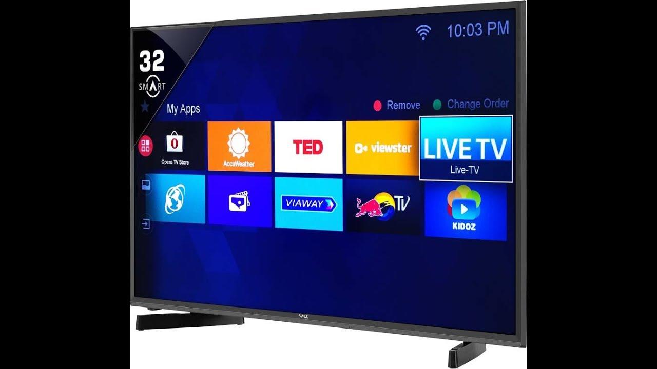 Flipkart Offer : Buy Vu 80cm (32 inch) HD Ready LED Smart TV at Rs. 16,499