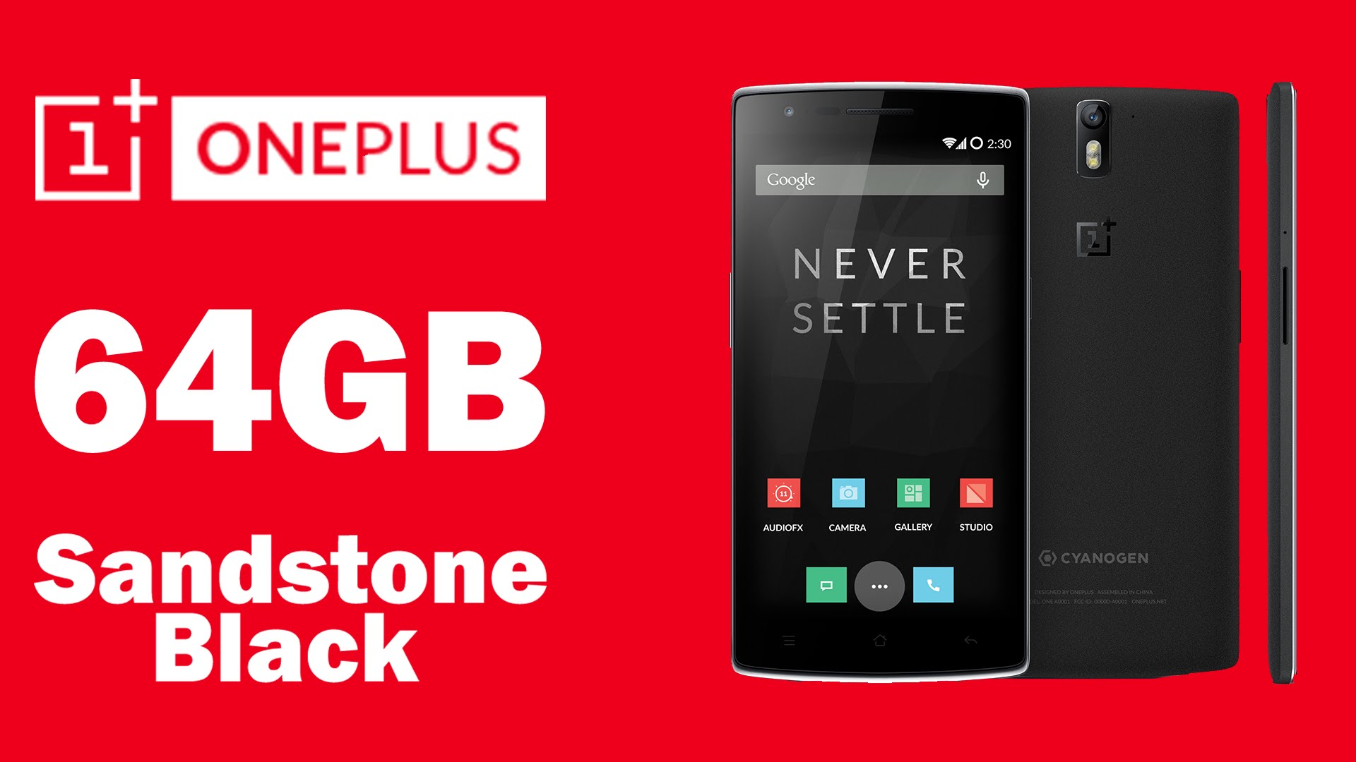 eBay: OnePlus One (Sandstone Black, 64GB) Preowned,Scratches+3 Months Seller Warranty