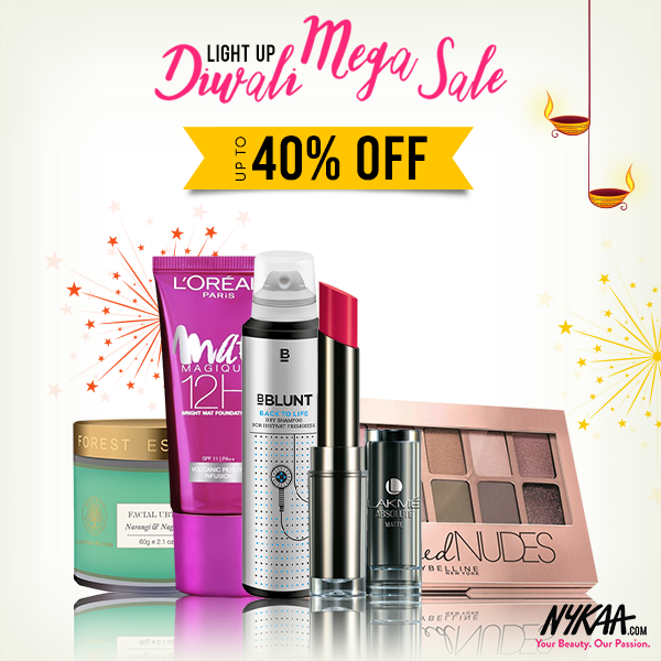 Nykaa Offer : Get upto 40% off on Make up