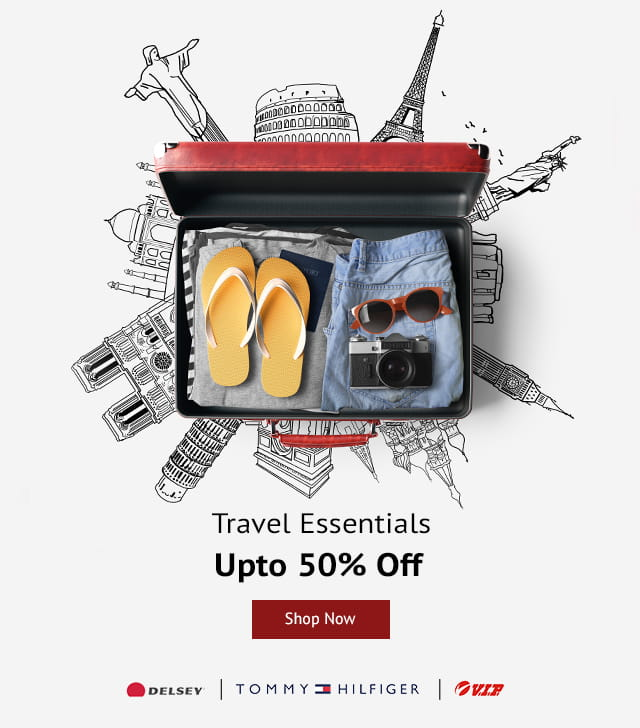 Shoppersstop Offer : Get upto 50% off on Travel Accessories