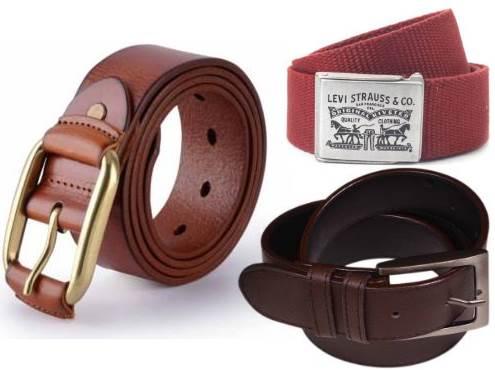 ShopClues Offer : Get upto 80% off on Belts for Men's