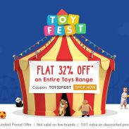 Firstcry Offer : Get 32% off on Toys