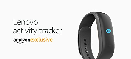 Amazon: Lenovo Heart Rate Fitness Band at Rs.2,999.00