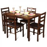 HomeTown Offer : Bolton Solidwood Four Seater Dining Set at Rs. 9,499