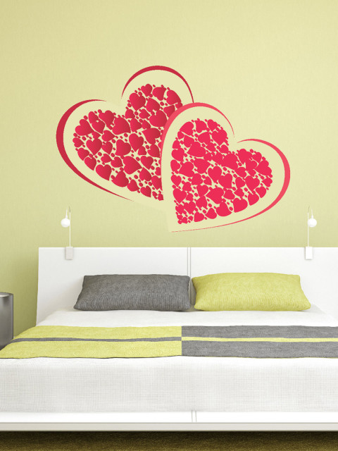 Myntra : DeStudio Red Pair Of Heart Wall Sticker at Rs.359