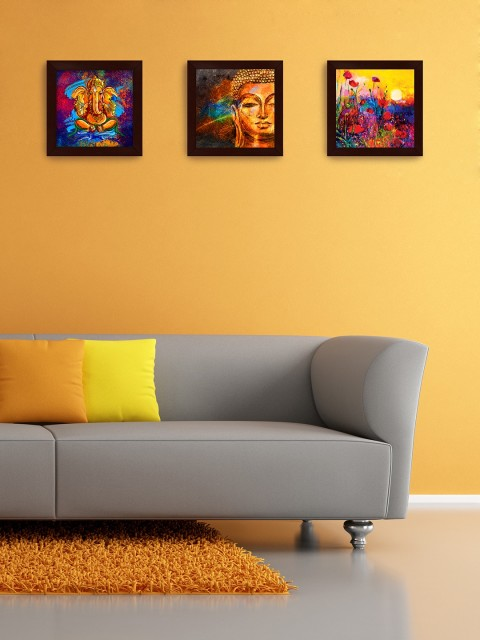 Myntra Offer : Story@Home Set of 3 Wall Paintings at Rs. 749
