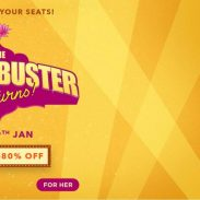 Myntra ( The Blockbuster Returns ) Offer : Get upto 50% off on Arrow Men's Wear