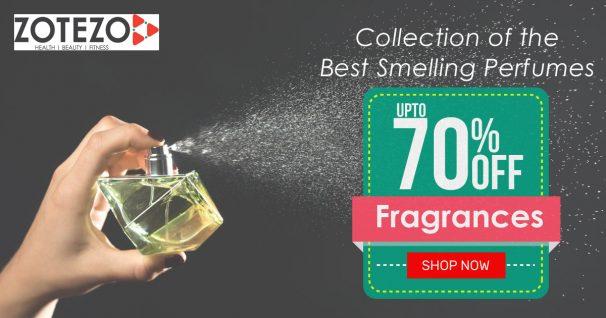 Zotezo Offer : Get upto 70% off on Fragrances