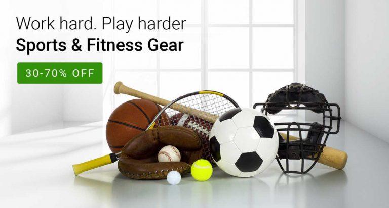 Flipkart ( Fashion EOSS Weekend )Offer : Get minimum 30% off on Sports & Fitness