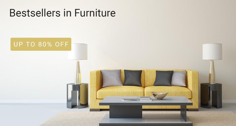 Flipkart Offer : Offer : Get upto 80% off on Home Furniture