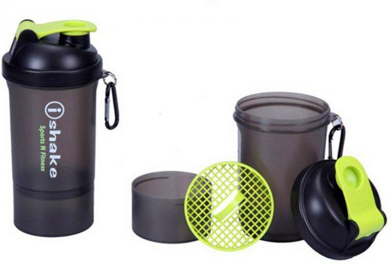 Flipkart Offer : iShake Ishake 020 500 ml Shaker, Sipper  (Silver) at Rs.268