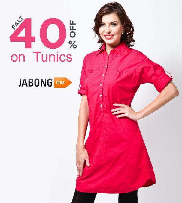 Jabong Offer : Get upto 40% off on Girls Top