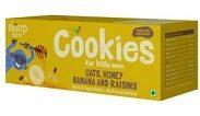 BabyChakra : Oats, Honey, Banana and Raisins Cookies at Rs.99