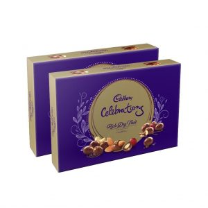 Amazon India : Cadbury Rich Dry Fruit Collection, 120g (Pack of 2) at Rs.175