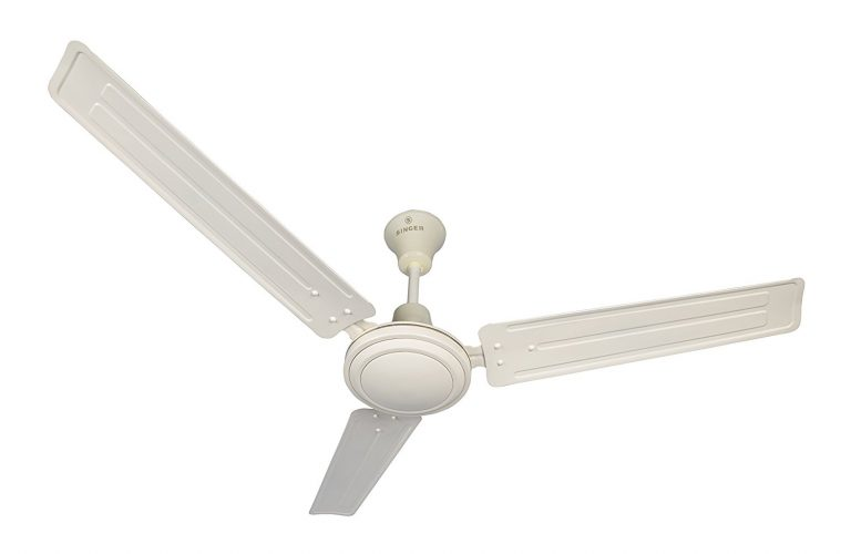 Amazon India : Singer Aerostar Solo 390 RPM Ceiling Fan (Ivory) at Rs.1190