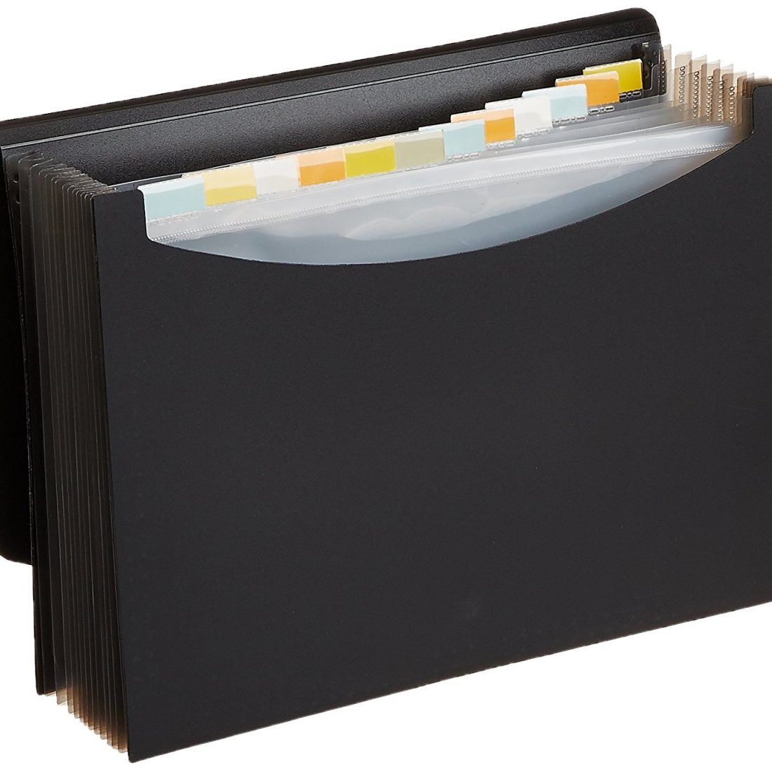 Amazon India : AmazonBasics Expanding File, Letter Size - Black - with 13 pockets at Rs.325