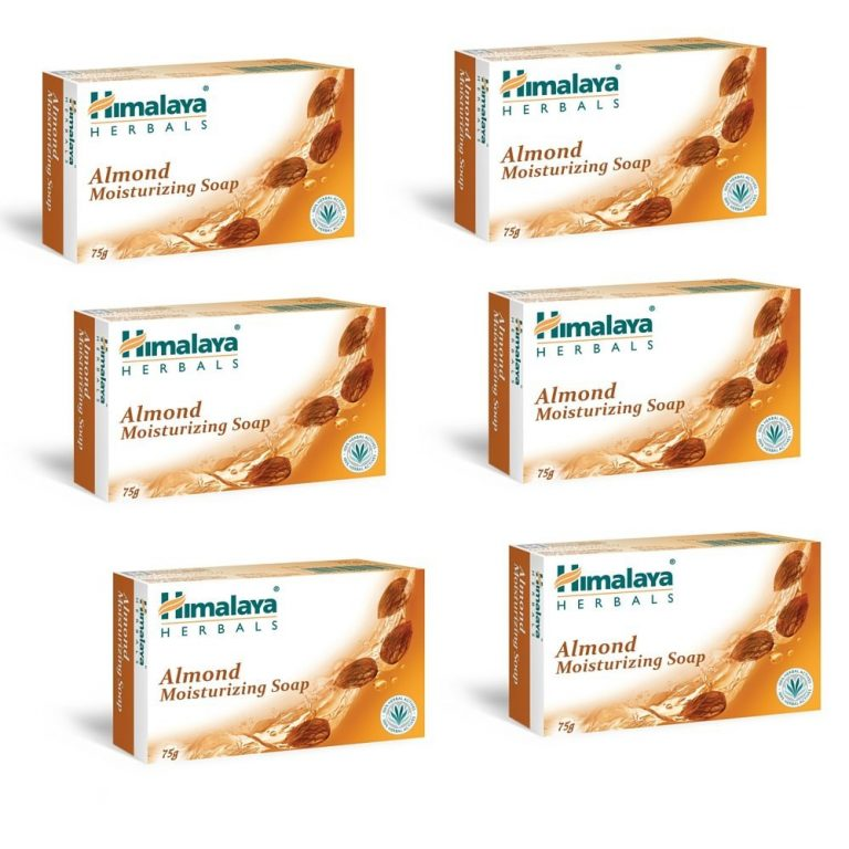Amazon India : Himalaya Herbals Almond and Rose Soap, 125g (Pack of 6) at Rs.264