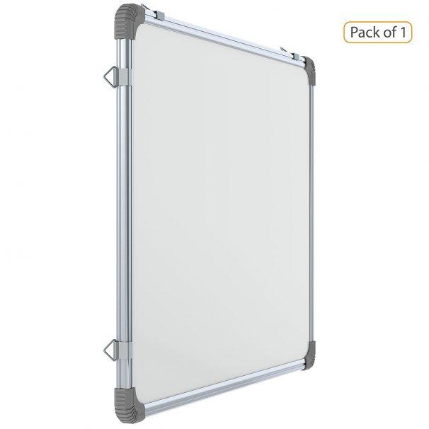 Amazon India Offer : Genius Regular Steel (Magnetic) Whiteboard, Lightweight Aluminium Frame, 2x3 Feet (Pack of 1) at Rs.1235