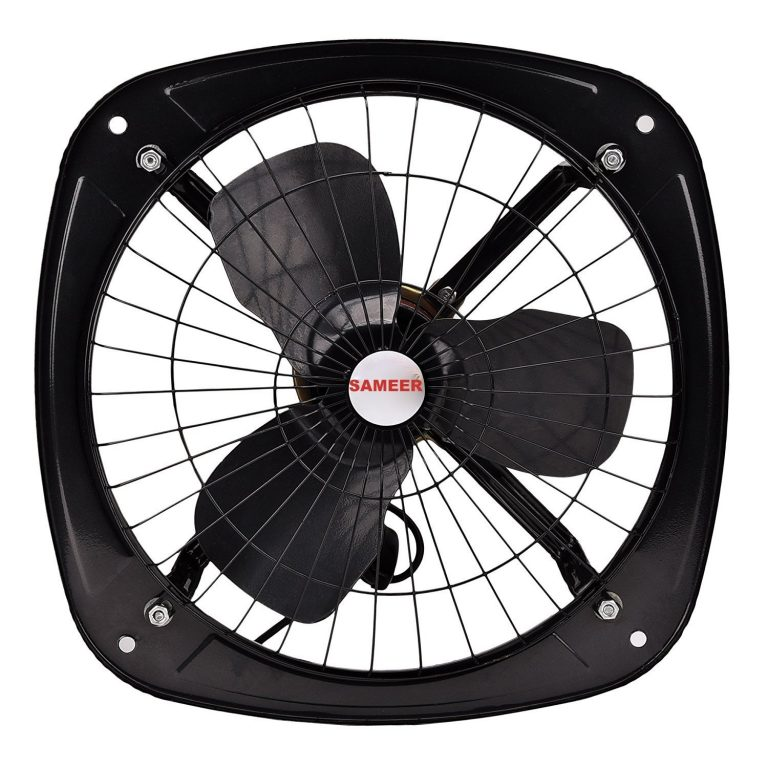 Amazon India : Sameer Exhaust Fan 12 Inch(300mm)High Speed,Black at Rs.809