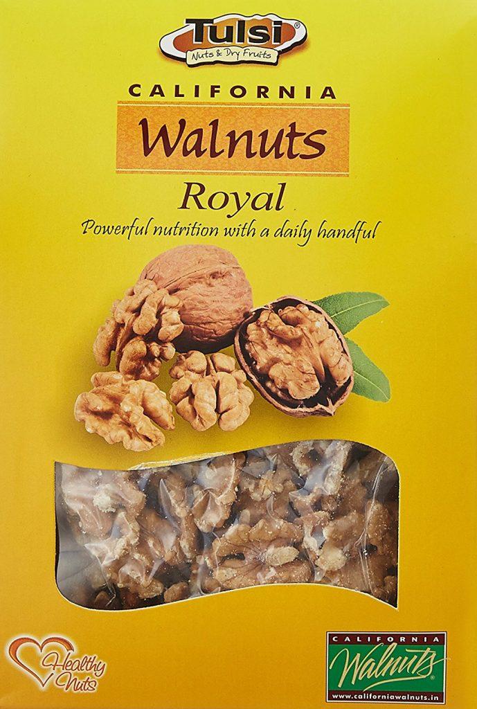 Amazon India : Tulsi Walnut Kernels, 200g at Rs.257