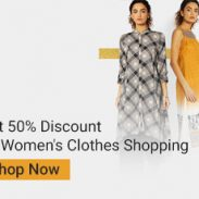 Ajio Offer : Get upto 50% off on Women's Kurtas