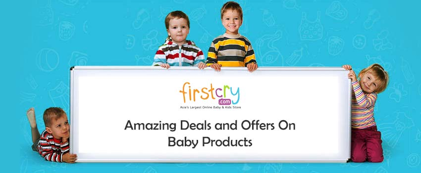Firstcry Offer : Get 30% off on New Born Essentials