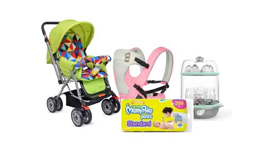 Flipkart Offer : Get upto 20% off on Baby Care