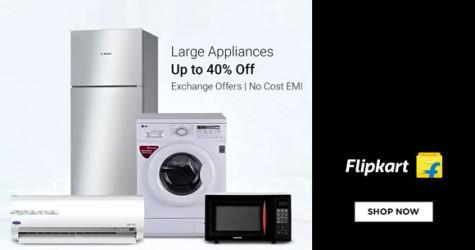 Flipkart Offer : Get upto 40% off on Kitchen Appliances