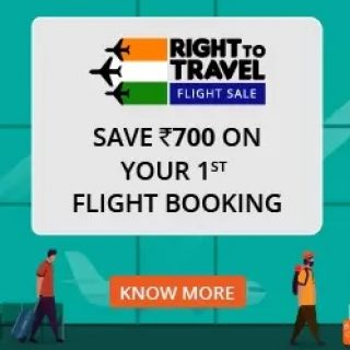 Ixigo : Get Rs. 700 cashback on 1st Flight Booking